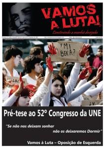 Pré-tese do Vamos à Luta ao 52º Congresso da UNE